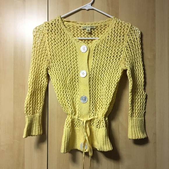 Banana Republic | Crochet Cardigan